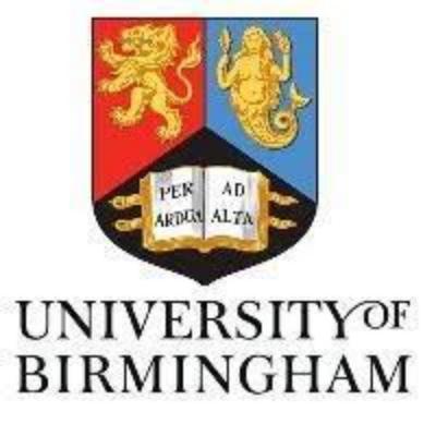 University of Birmingham Logo Image