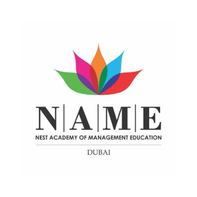 Nest Academy of Management Education NAME Logo Image