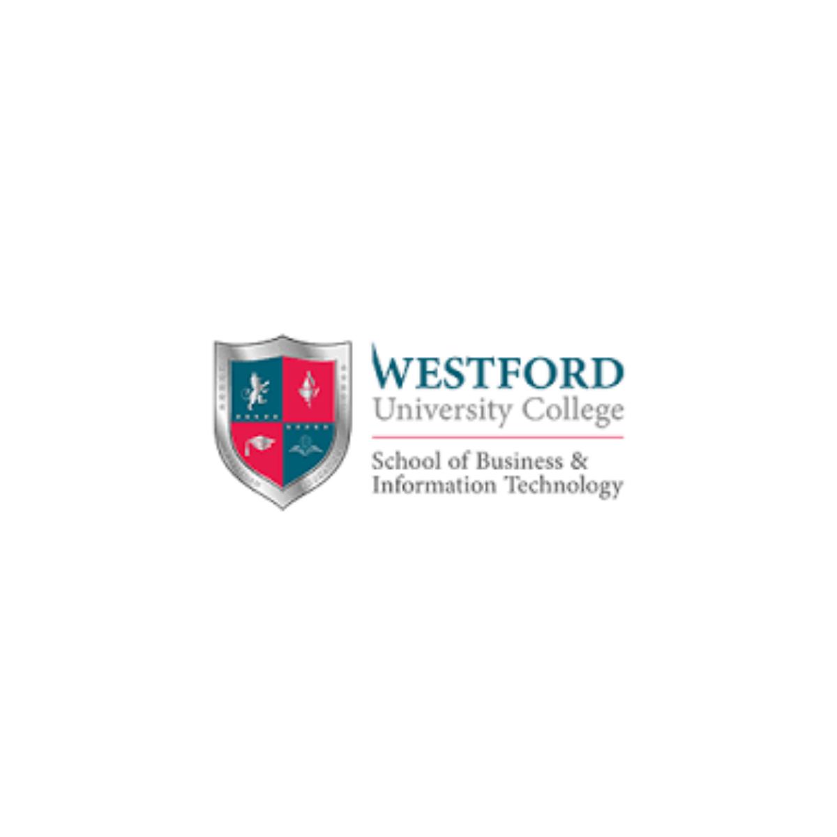 Westford University College Logo Image
